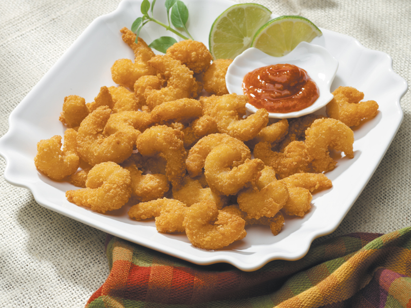 Mrs. Friday's® Gourmet Breaded Popcorn Shrimp