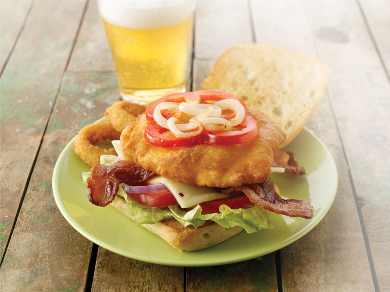 Mrs. Friday's® Tavern Battered®  Haliburger, 99-113g